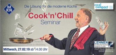 Cook´n´Chill Kombiseminar Cool Compact & MKN